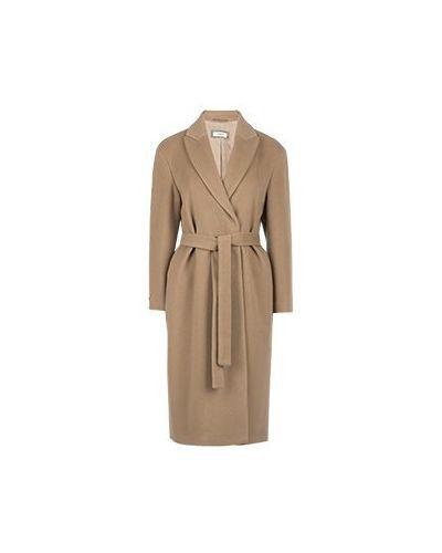 Коричневое пальто Peserico