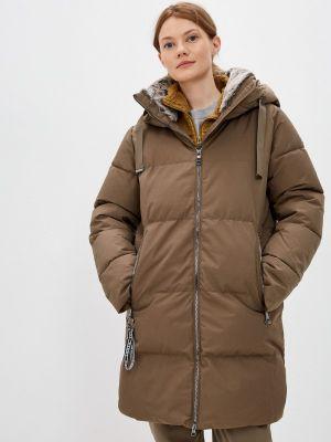 Утепленная куртка - коричневая Luhta