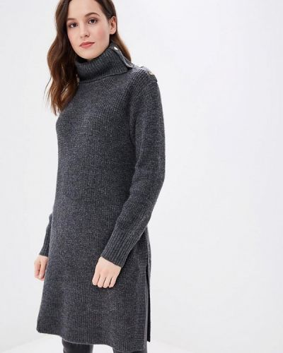 Вязаное платье осеннее трикотажное B.young