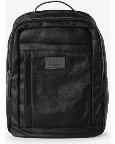 Czarny plecak na laptopa Bugatti