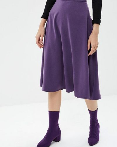 Юбка широкая фиолетовый Love & Light