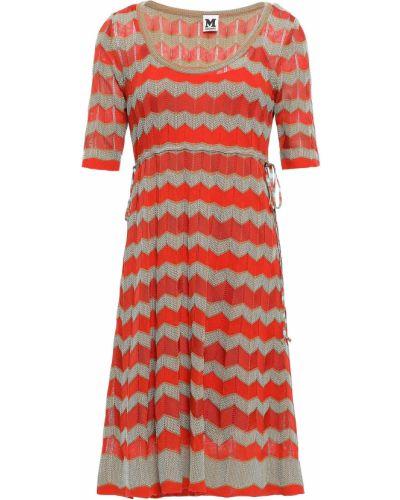 Хлопковое платье - оранжевое M Missoni