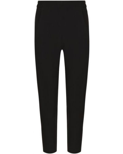 Укороченные брюки с карманами шерстяные Ann Demeulemeester