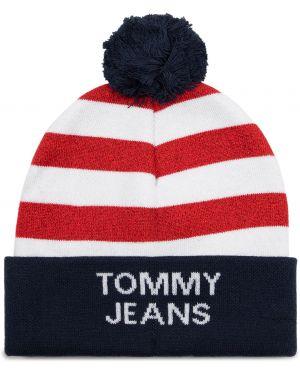 Jeansy amerykański czerwony Tommy Jeans