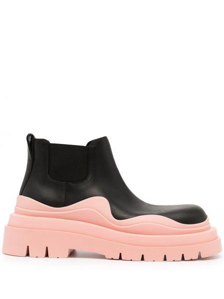 Кожаные ботинки - черные Bottega Veneta