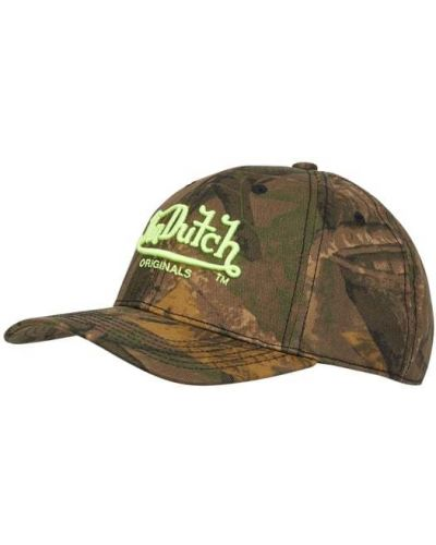 Zielona czapka z daszkiem Von Dutch