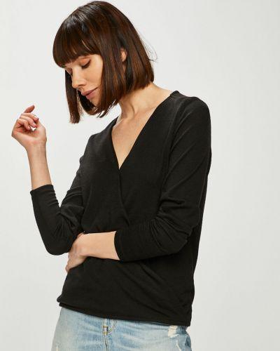 Блузка однотонная с запахом Noisy May