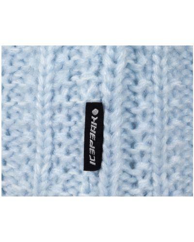 Вязаная шапка - голубая Icepeak