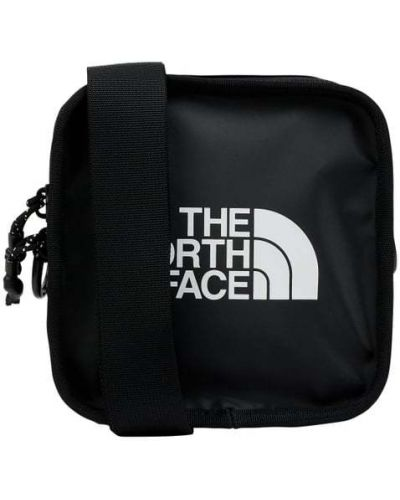Czarna torba na ramię z printem The North Face
