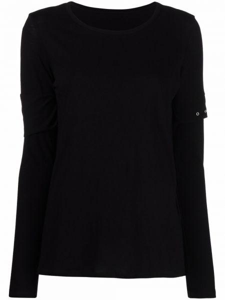 Czarna koszulka bawełniana Yohji Yamamoto
