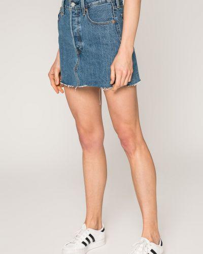 Джинсовая юбка карандаш с поясом Levi's®
