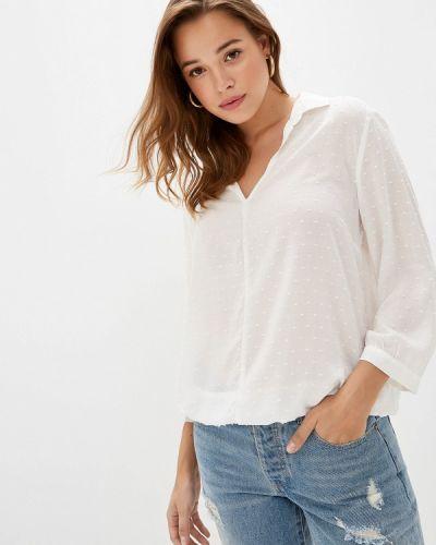 Блузка с длинным рукавом белая S.oliver