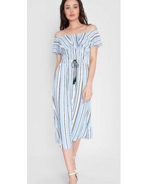 Платье мини макси в полоску Ostin