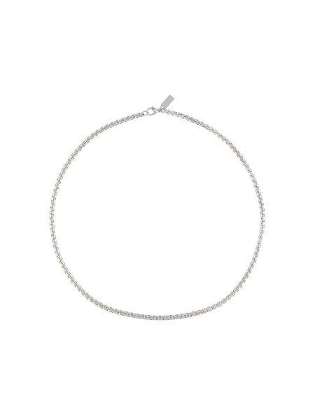Серебряная цепочка металлическая квадратная Nialaya Jewelry