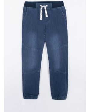 Spodnie niebieski z kieszeniami Coccodrillo
