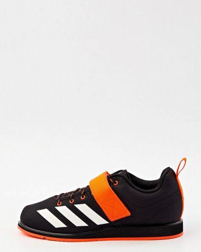 Черные текстильные кроссовки Adidas