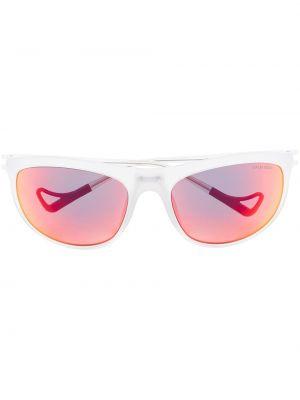 Białe okulary z nylonu District Vision