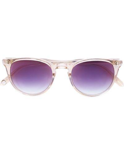 Оранжевые солнцезащитные очки Garrett Leight