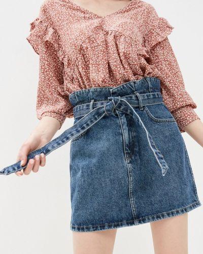 Джинсовая юбка - синяя Ovs