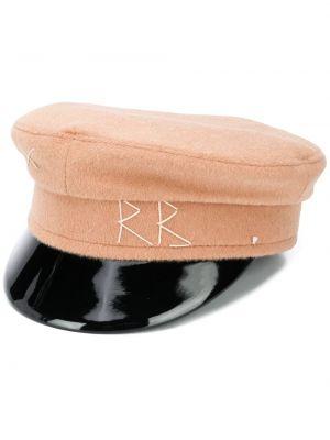 Wełniany różowy czapka z haftem Ruslan Baginskiy
