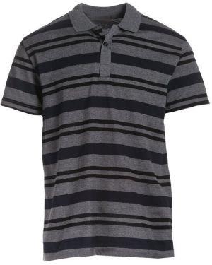 Szary t-shirt materiałowy Multu