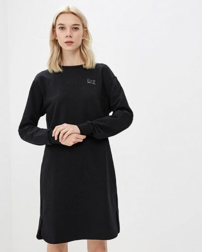Платье осеннее платье-толстовка Ea7