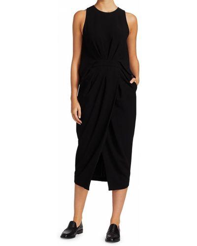 Черное платье без рукавов Rachel Comey