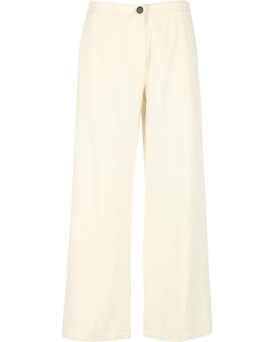 Beżowe spodnie Pomandere