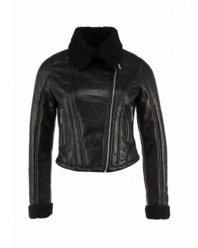 Куртка осенняя черная Lucid