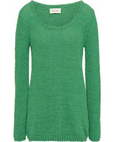 Свитер винтажный - зеленый American Vintage