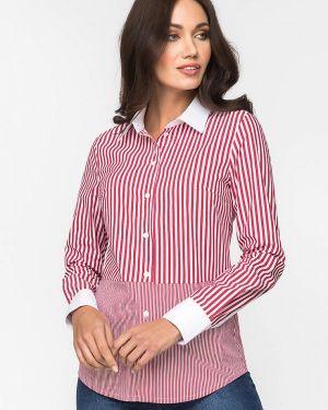 Рубашка с длинным рукавом красный Gloss