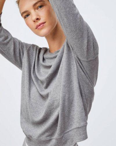 Домашняя серая футболка Oysho