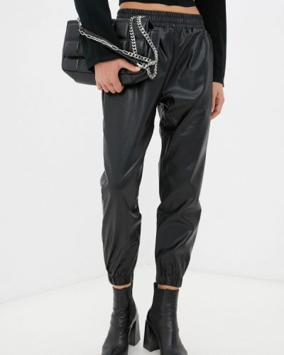 Кожаные брюки - черные By Swan