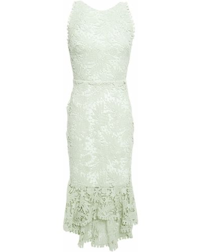 Кружевное платье - мятное Maria Lucia Hohan