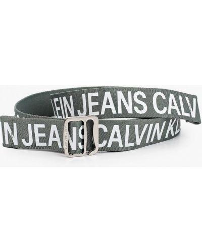 Зеленый ремень Calvin Klein Jeans