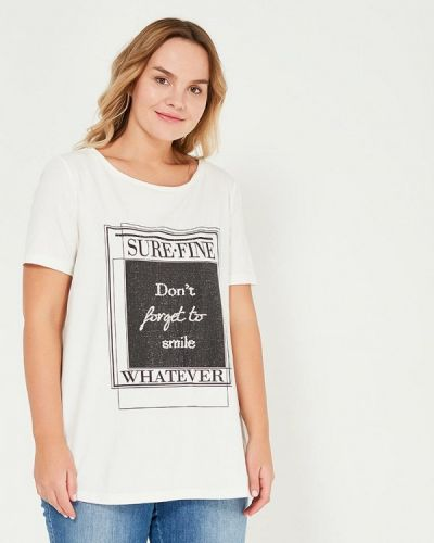 Белая футболка Samoon By Gerry Weber