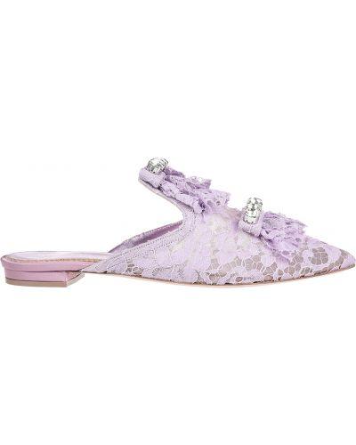 Мюли фиолетовый Le Silla