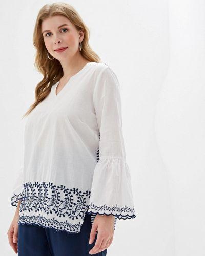 Блузка с длинным рукавом белая индийский Ovs