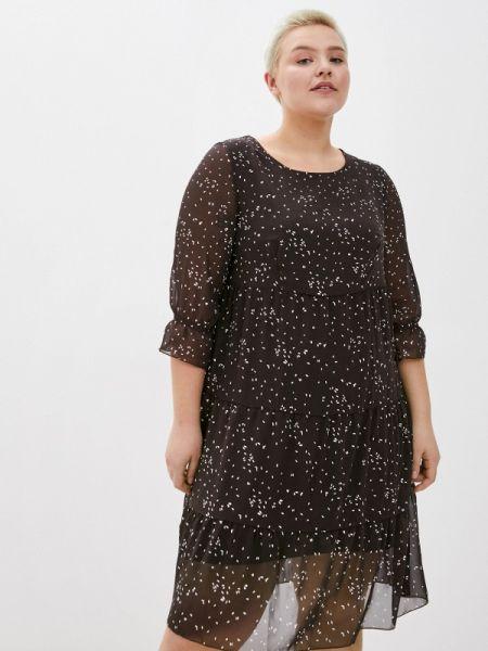 Коричневое повседневное платье Kontaly