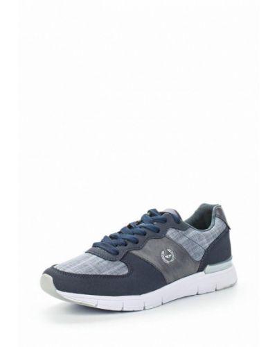 Синие кроссовки замшевые Patrol