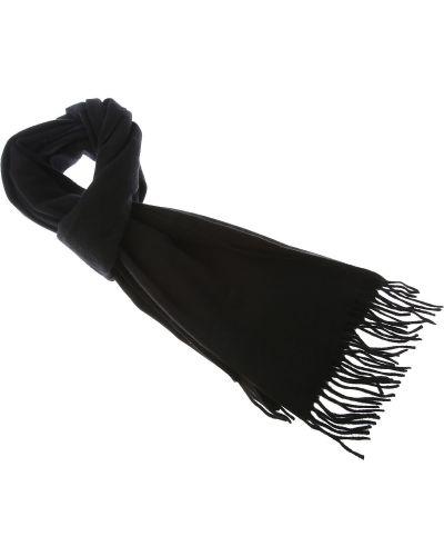 Czarny szalik bawełniany z frędzlami Comme Des Garcons