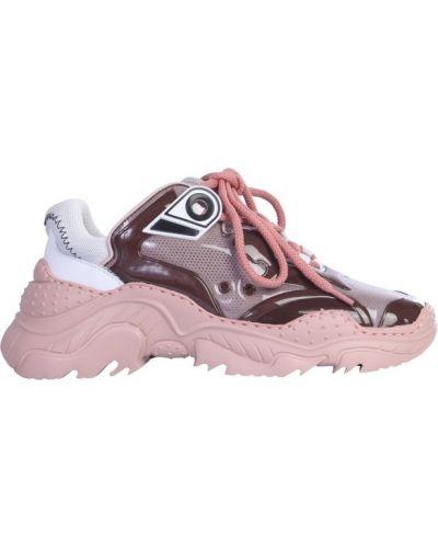Różowe sneakersy N°21