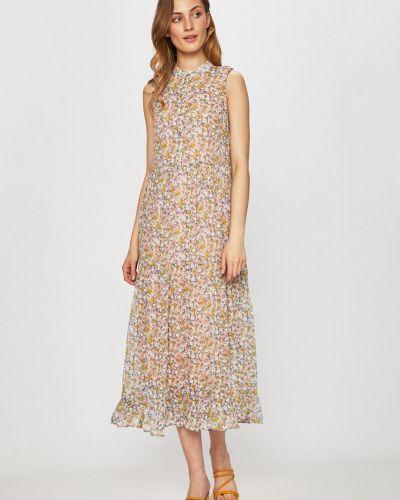 Платье прямое с вырезом Vila