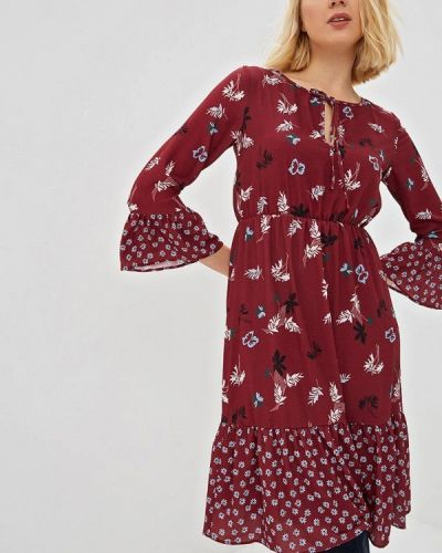 Платье бордовый красный Almatrichi