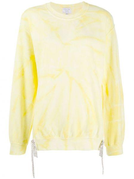 Bluza dresowa - żółta Collina Strada