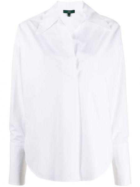 Классическая белая прямая классическая рубашка с воротником Jejia