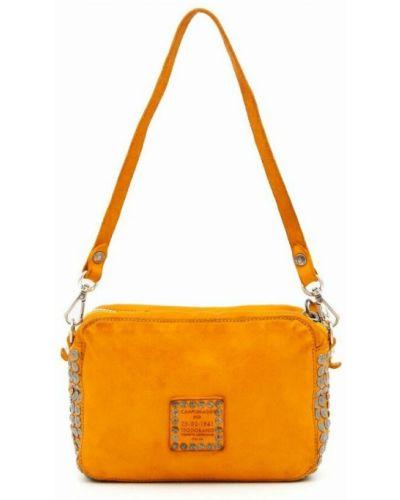 Pomarańczowa torebka Campomaggi