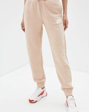 Спортивные брюки бежевый весенний Nike