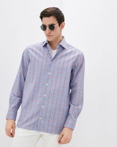 Синяя рубашка с длинными рукавами Van Laack