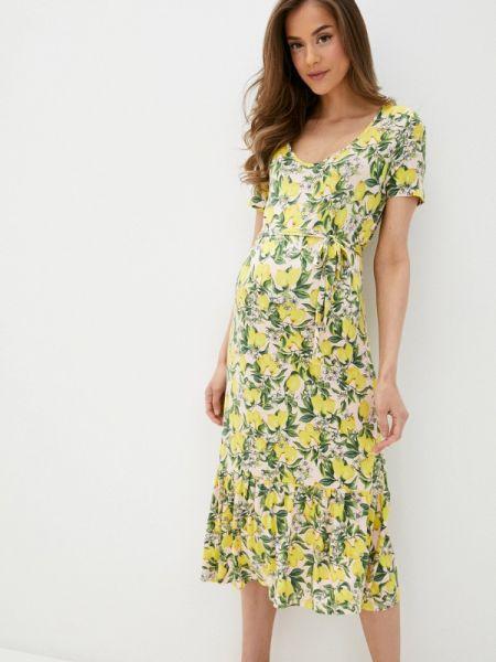 Платье для беременных прямое весеннее Mama.licious